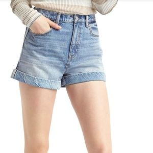GAP Super High Rise Jean Shorts